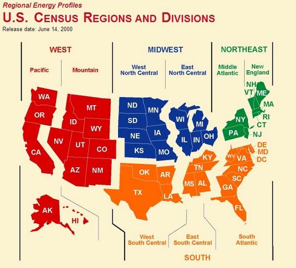 Census Regions