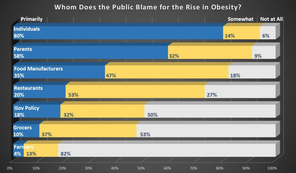 Whom Does the Public Blame for Obesity?