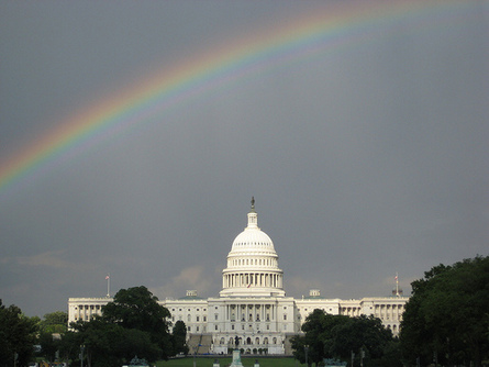 Capitol under the Rainbow