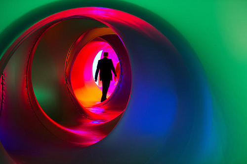 Luminarium Sculpture on Human Rights