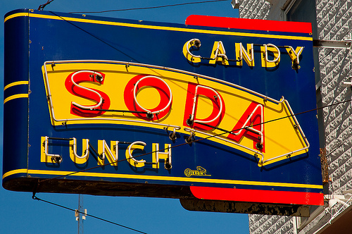 Candy-Soda-Lunch Since 1910