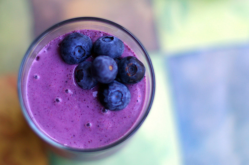 Blueberry Doughboy Smoothie