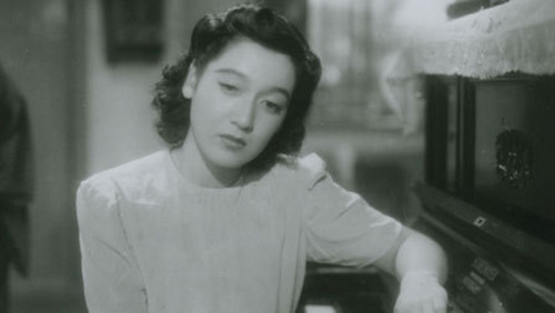 Setsuko Hara in No Regrets for Our Youth