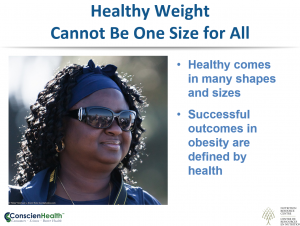 Healthy Weight Cannot Be One Size for All