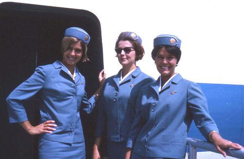 Pan Am Stewardesses