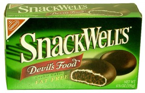 SnackWell's Fat-Free Devil's Food Cookie Cakes