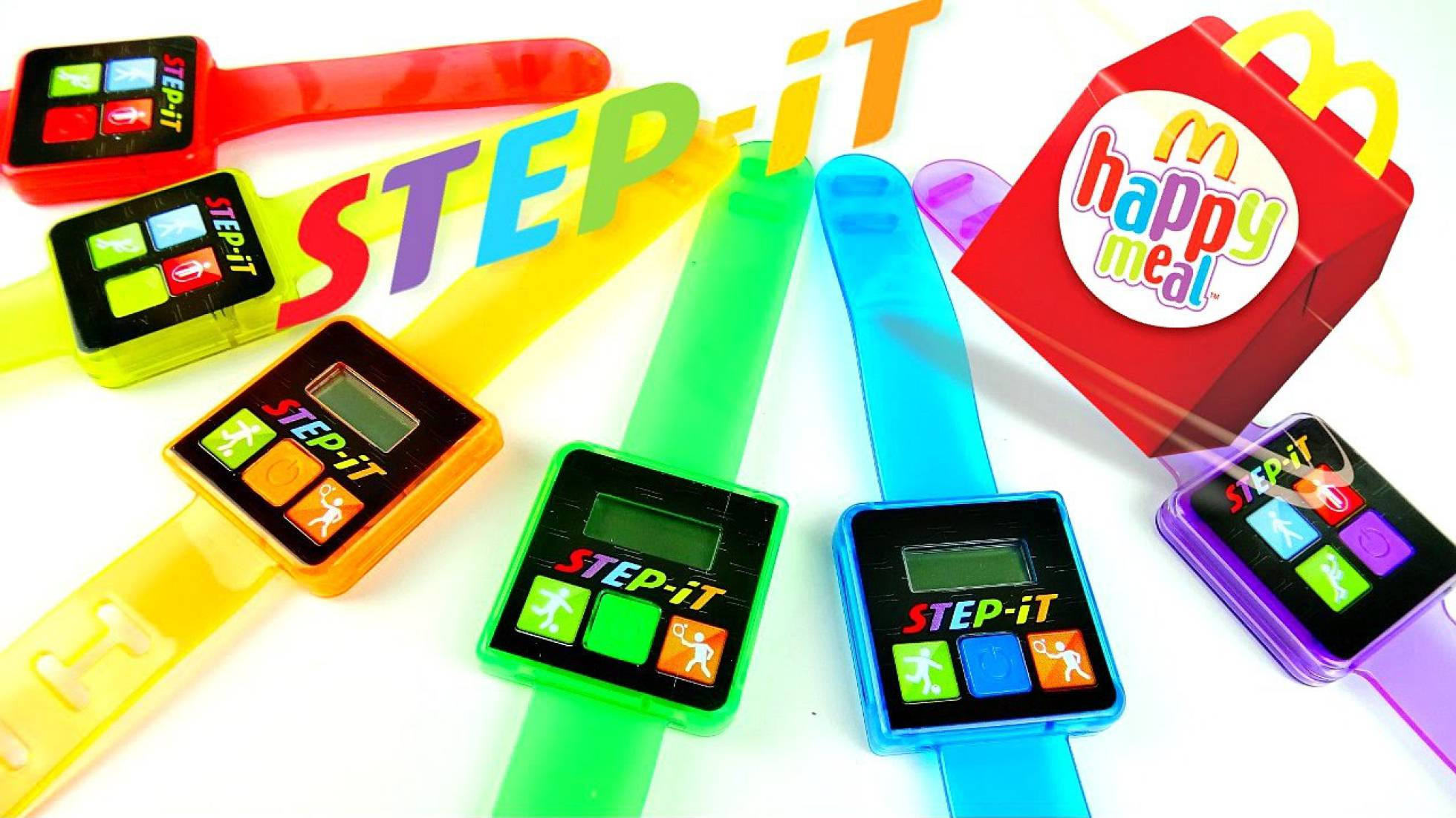 Step-It Activity Trackers