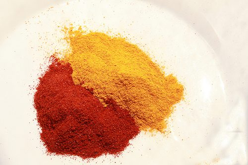 Turmeric and Paprika