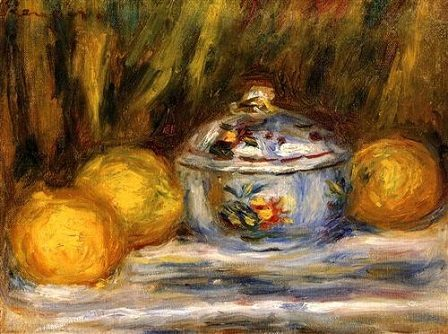 Sugar Bowl and Lemons