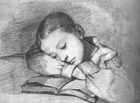 Portrait Of Juliette Courbet As A Sleeping Child,
