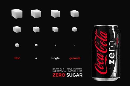 how to tell coke zero and coke apart