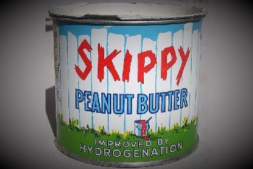 Skippy Peanut Butter Tin Can