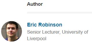 Eric Robinson, Author