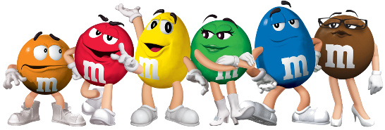 M&M Spokescandies