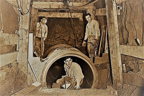 Sewer Tunnel Laborers