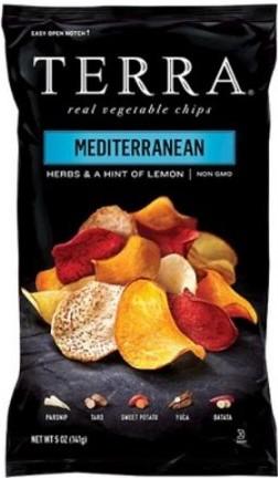Mediterranean Veggie Chips