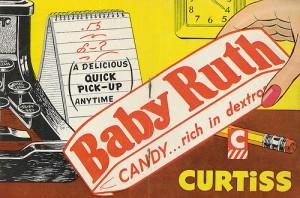 Baby Ruth Ad, 1951