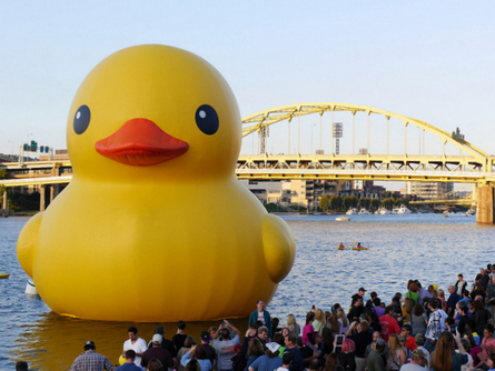 Giant Duck in Pittsburgh