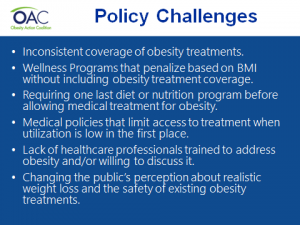OAC: Policy Challenges