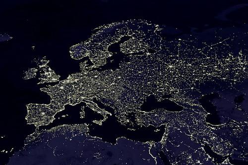 Night Lights of Europe