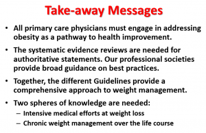 Guidelines Take-Away Messages