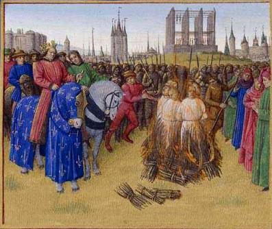The Burning of Amalrician Heretics