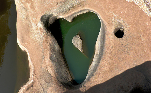 Heart-Shaped Hole