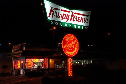Krispy Kreme Is Now Hot