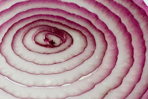 Red Onion Slice, Good in Soup