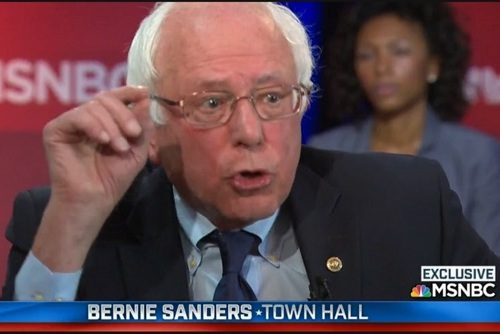 Bernie Sanders, Town Hall Meeting in Philadelphia