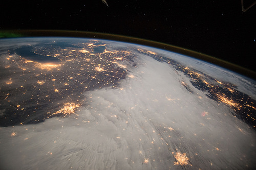Great Lakes and Central U.S. from Space