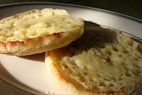 Buttered Muffins, Nooks and Crannies