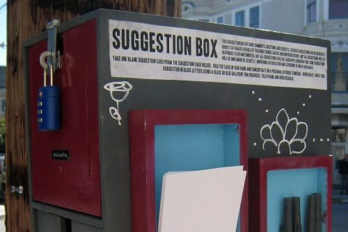Locked Suggestion Box