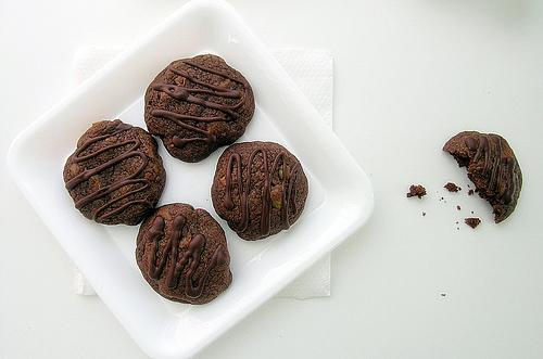 Dark Chocolate Cookies