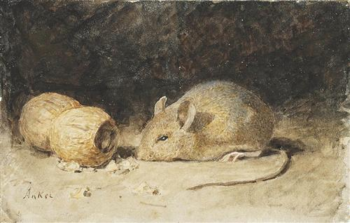 Mouse with a Peanut