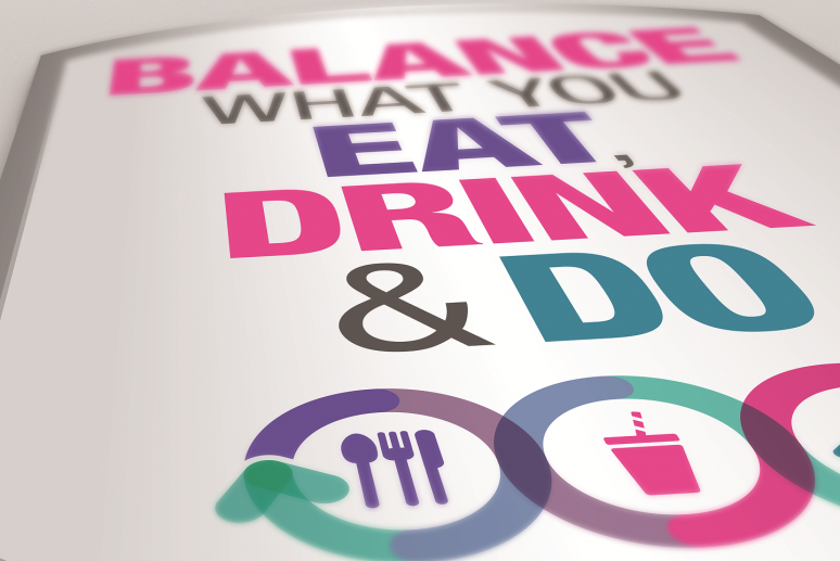 Balance What Your Eat, Drink, and Do