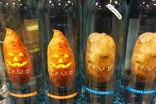 Pumpkin Spice Potato Vodka