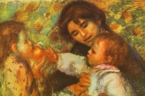 Gabrielle with Renoir's Children