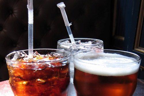 Water, Beer, and Diet Coke
