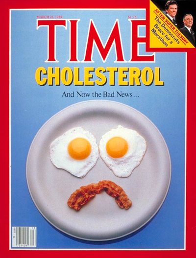 Time Cholesterol Cover 1984