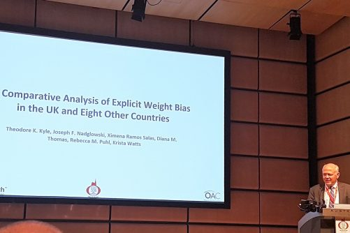 Ted Kyle Presenting Bias Data at ECO2018