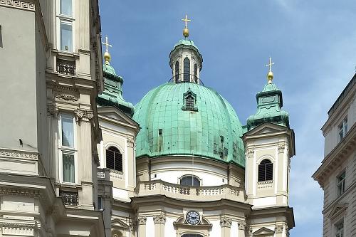 Katholische Kirche St. Peter in Vienna
