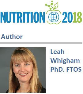 Leah Whigham, Nutrition 2018
