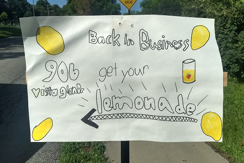 Lemonade Stand Back in Business