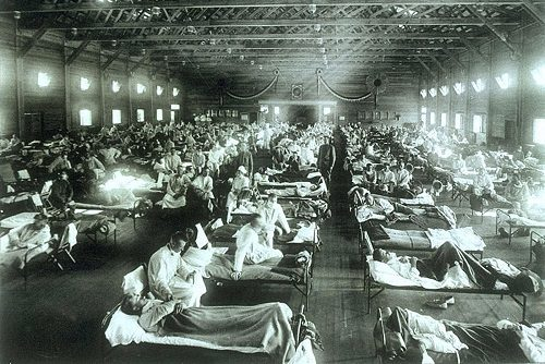 Epidemic at Camp Funston