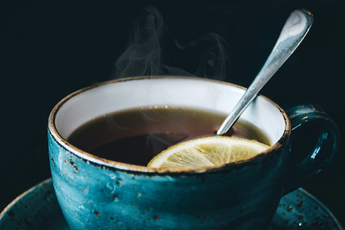 Tea, Lemon, and Spoon