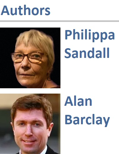 Philippa Sandall and Alan Barclay