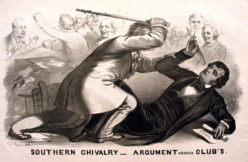 Beating Charles Sumner in the U.S. Senate