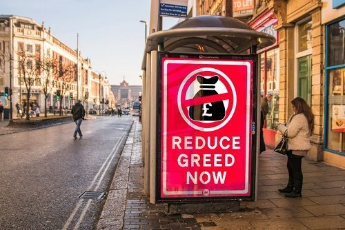 Reduce Greed Now