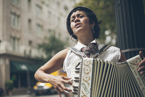 Accordion on the Street